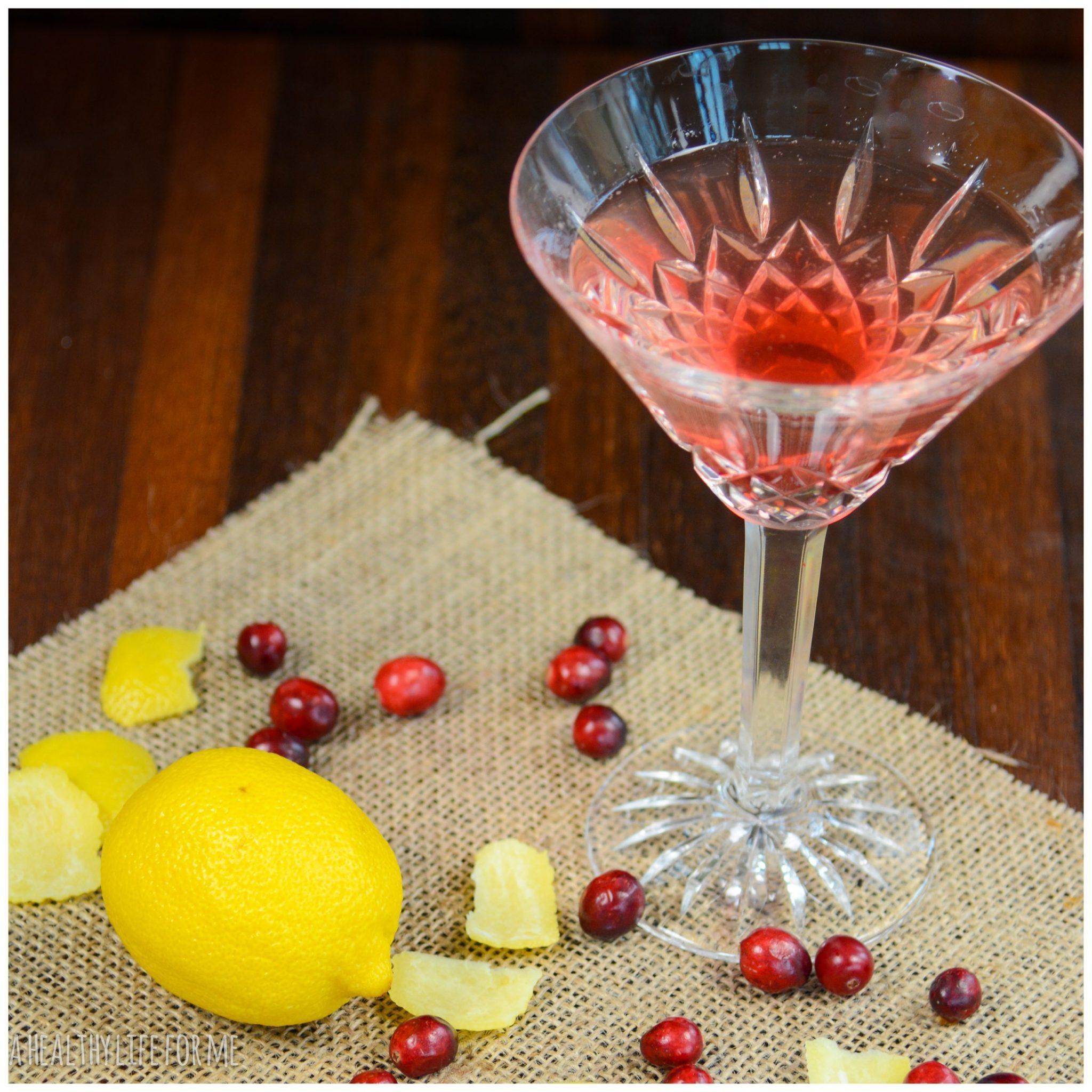 Cranberry-Limoncello-Martini
