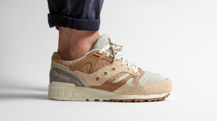 Saucony Gives its Grid SD a Luxury Makeover