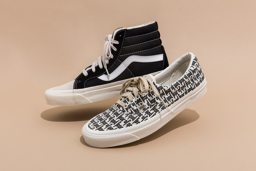 Vans Fear of God Sk8 Hi Collaboration