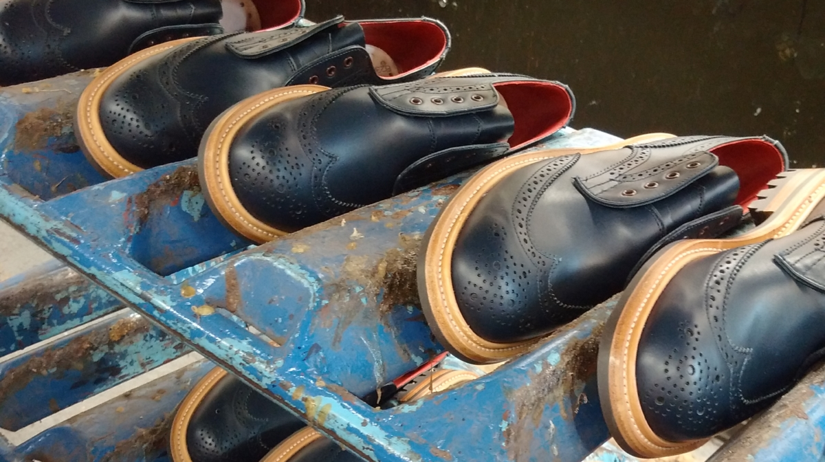 Behind the Scenes at the Tricker's Shoe Factory