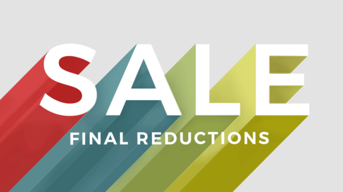 Final Reductions: Our Editor's Picks of the Sale