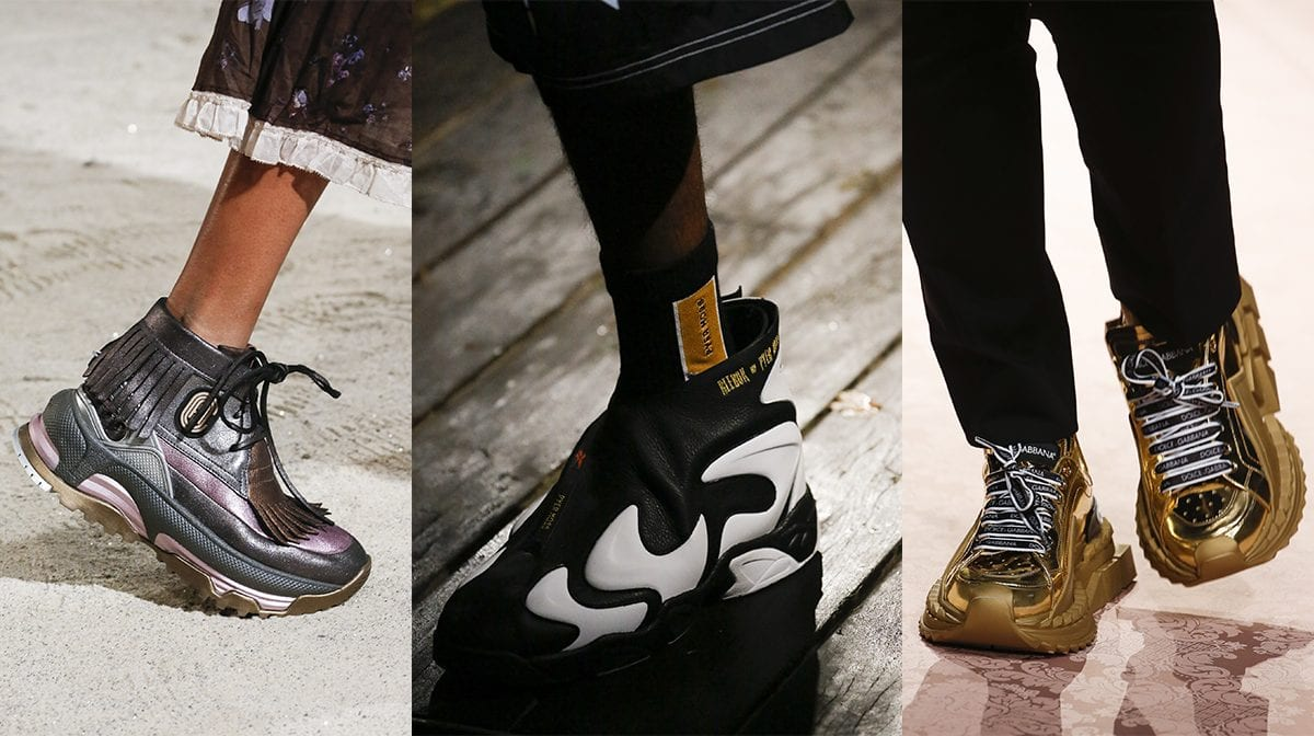 chunky trainer trend