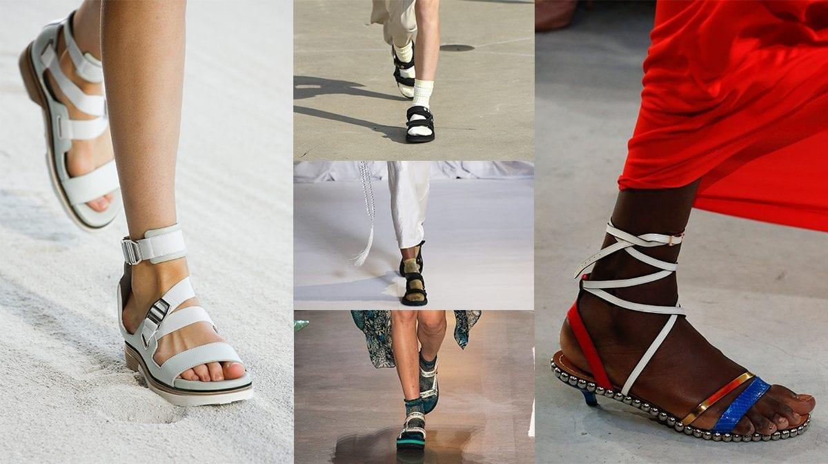 strappy teva style sandals
