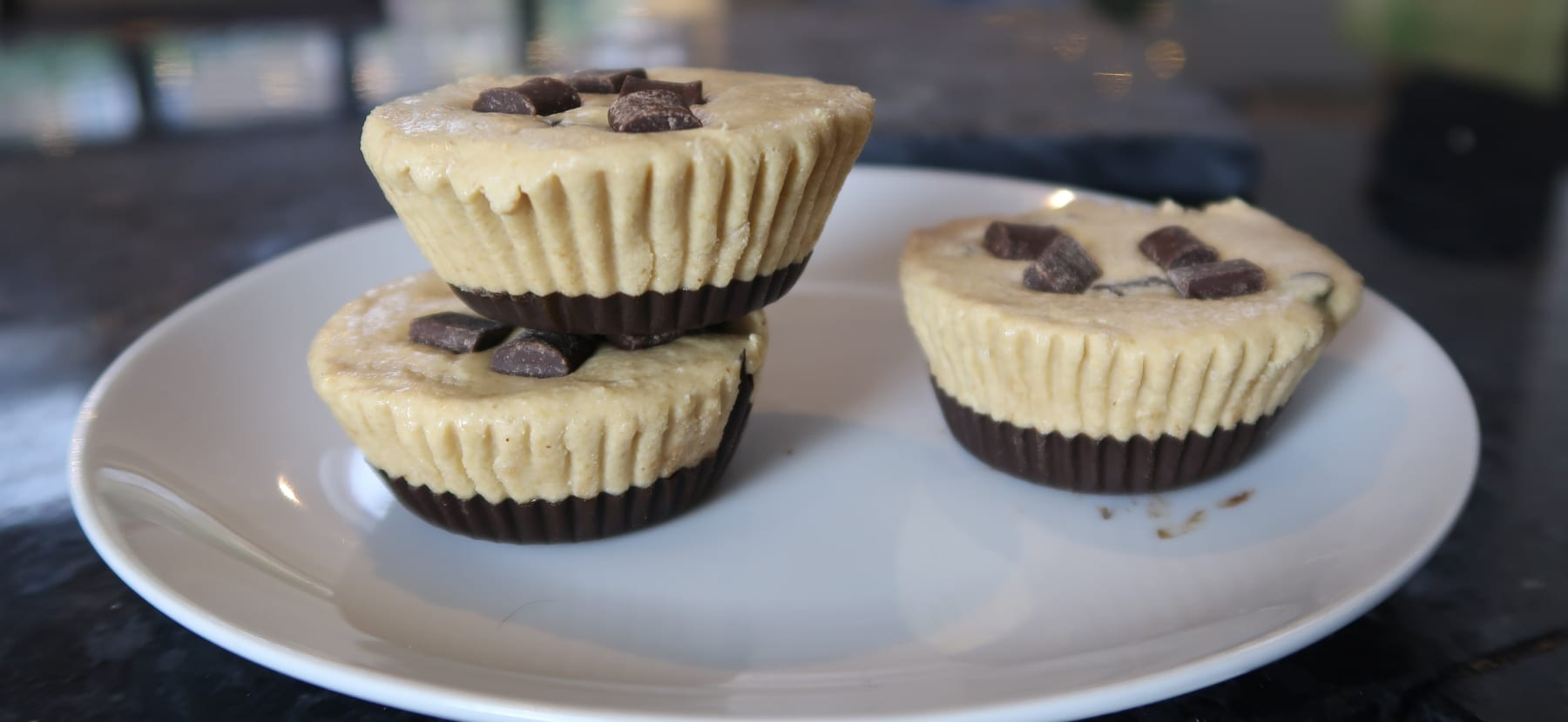 protein cookie dough cups