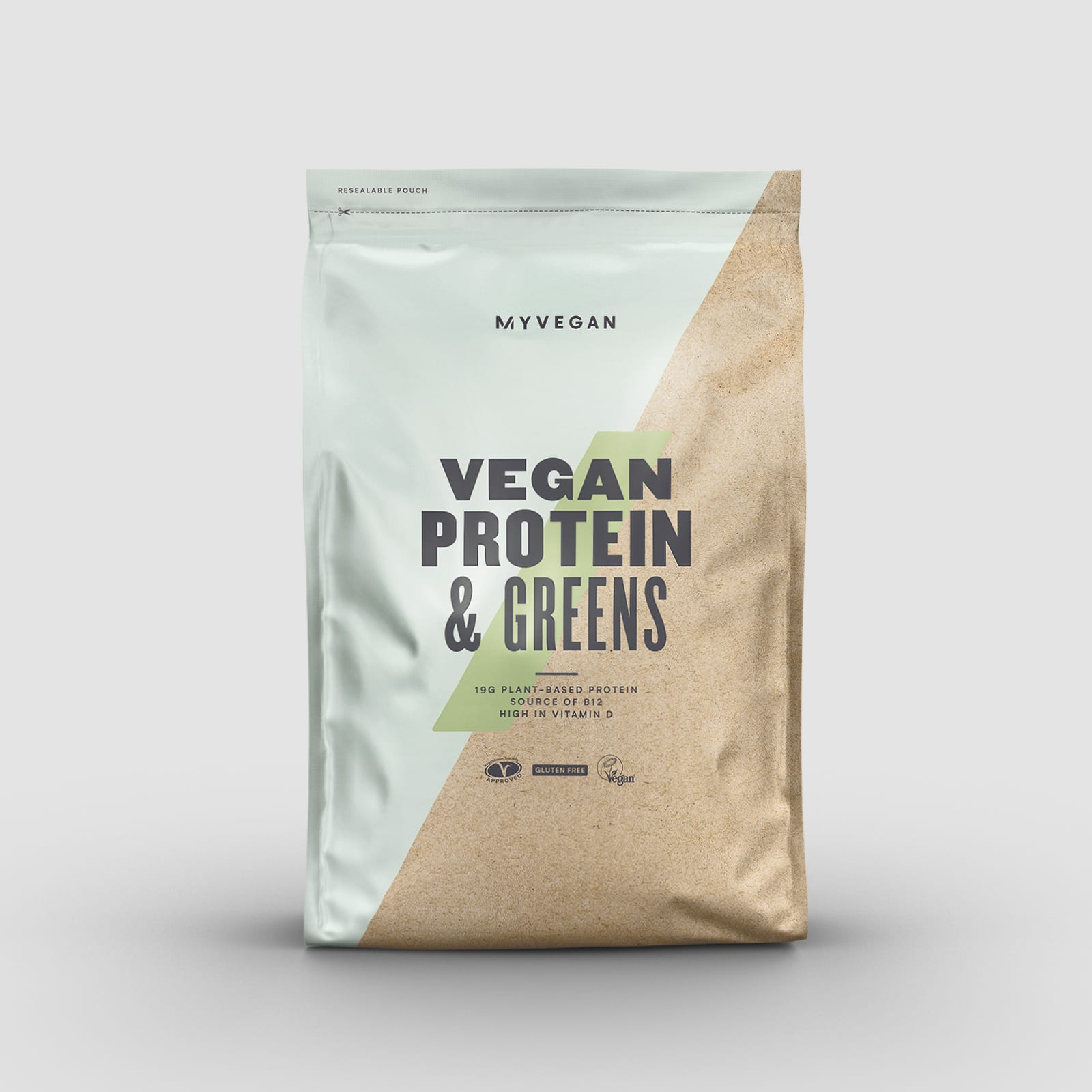 vegan protein and greens