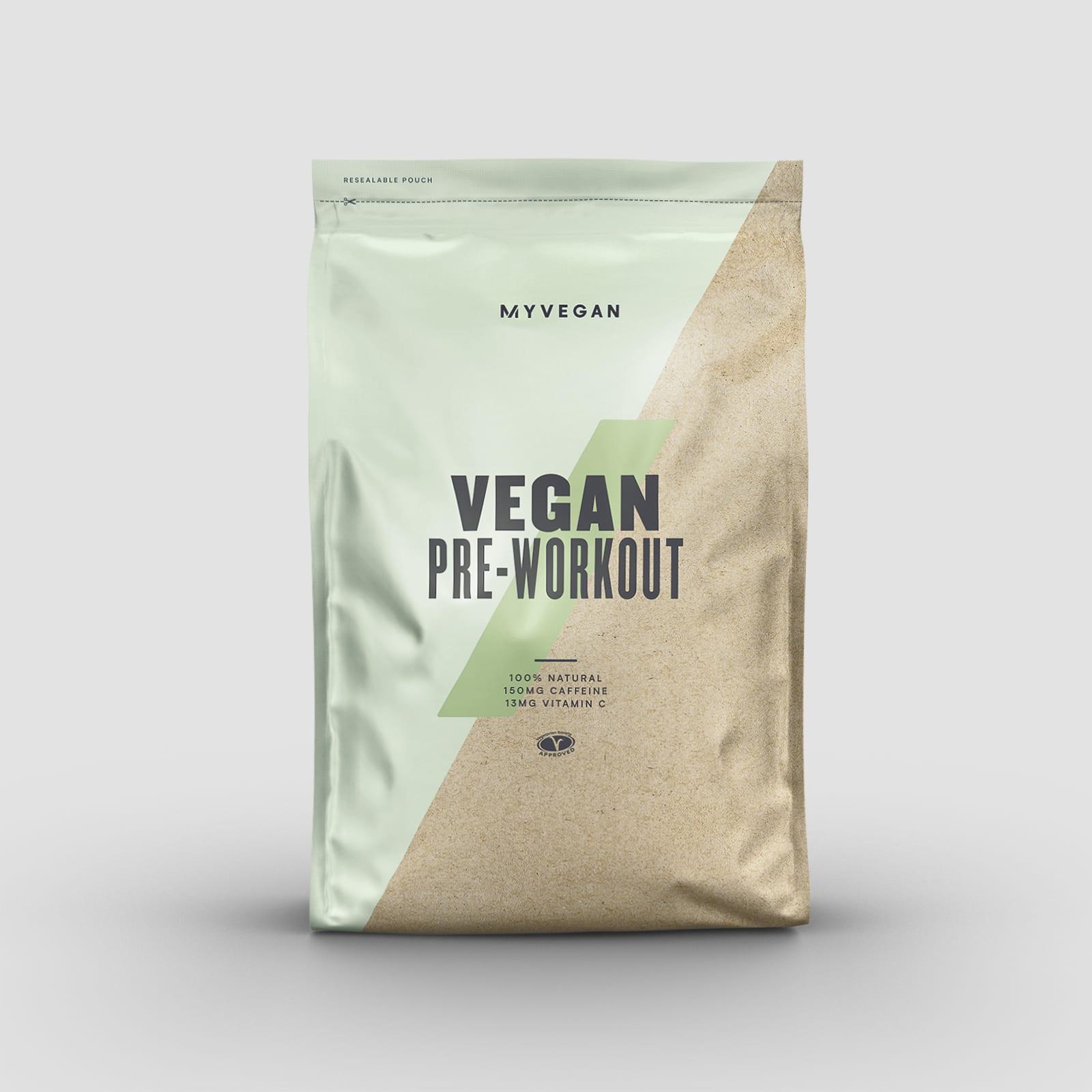 vegan pre-workout