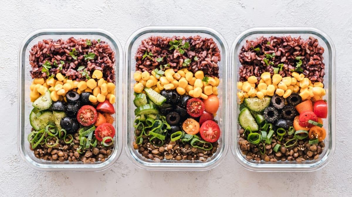 vegan on a budget meal prep