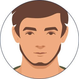 Der Bart ohne Schnurrbart