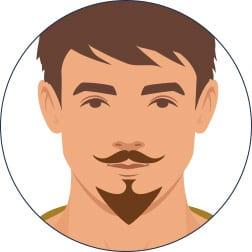 Bartpflege: Der Van-Dyck-Bart