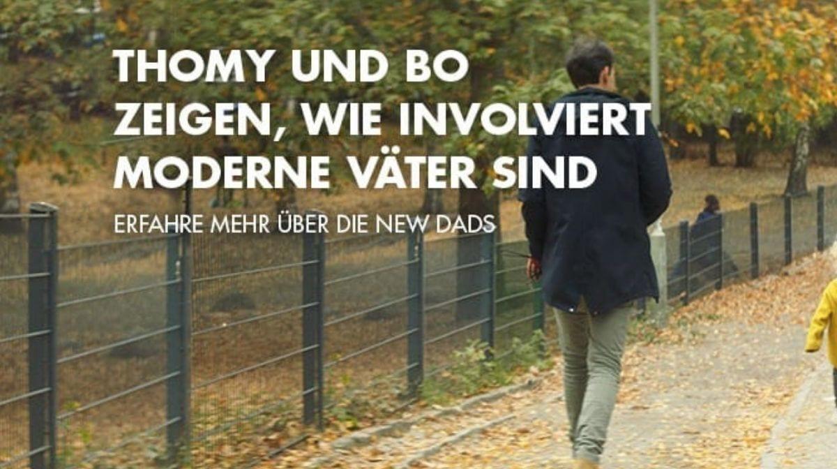 Thomy und Bo zeigen wie involviert moderne Väter sind
