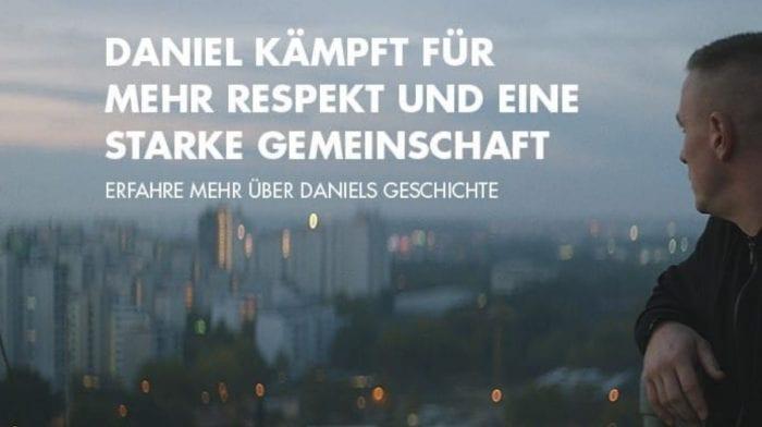 Daniel kämpft für mehr Respekt und eine starke Gemeinschaft