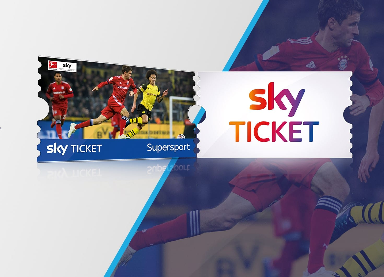 Streame den besten Live-Sport mit Sky Ticket