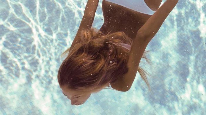 How chlorine can affect hair