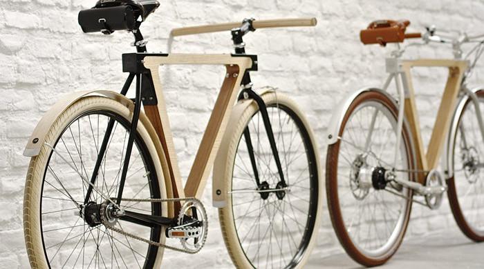 BSG Bikes The Wood Bike
