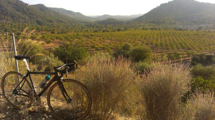 Cycling in Sineu, Majorca