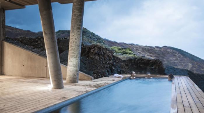 Luxury Adventures in Iceland pool