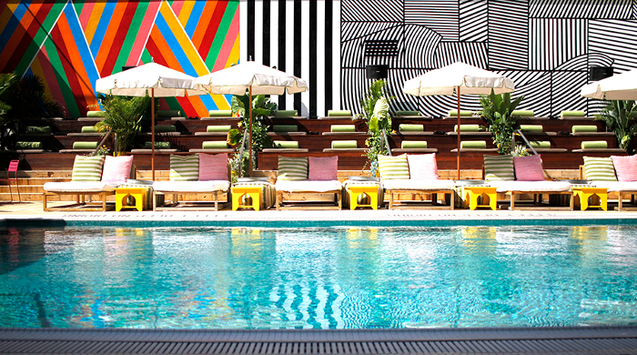 mccarren hotel pool