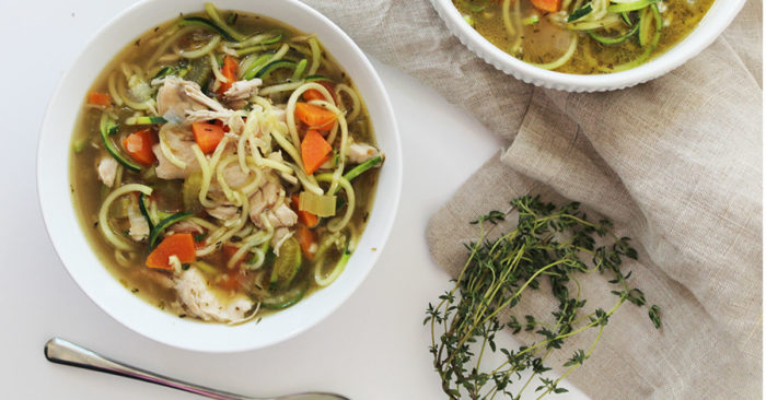 The Best Chicken Noodle Soup Ever