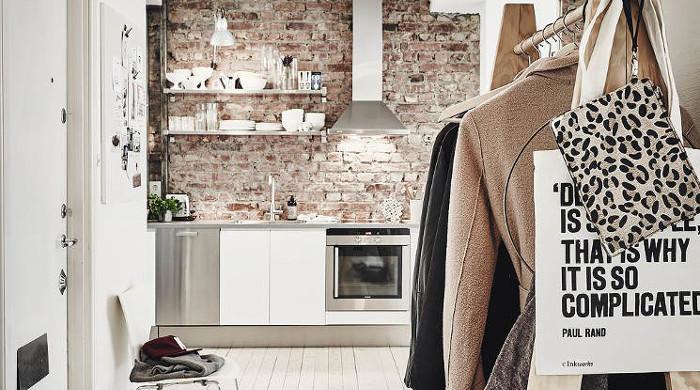 Hygge Swedish Apartment - Hallway