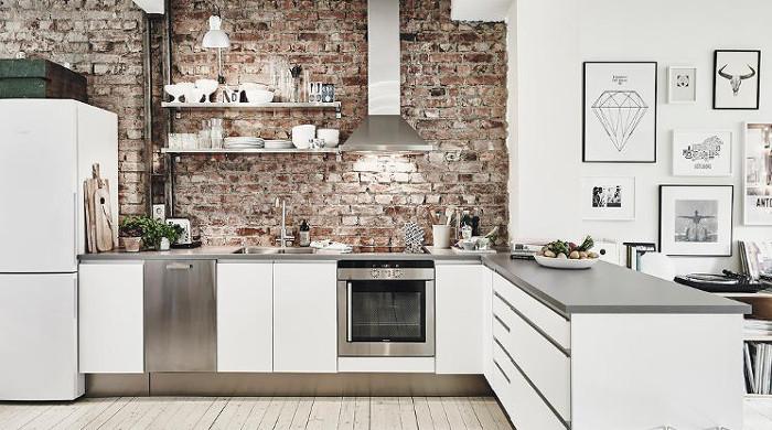 Hygge Swedish Apartment - Kitchen