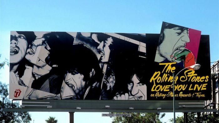 The Rock 'n' Roll Billboards of LA's Sunset Strip