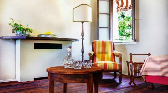 Prati Palai, Lake Garda: The sitting room.