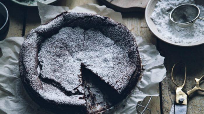 Kladdkaka Swedish Chocolate Cake