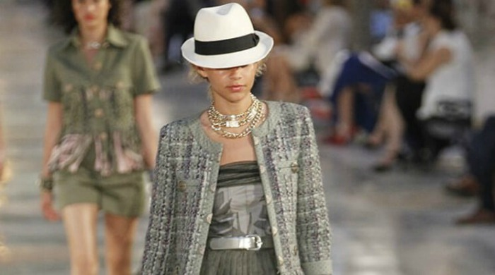 Chanel's cruise collection show in Havana.