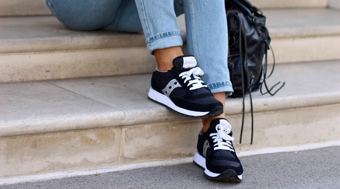 Saucony trainers from our shoppable Instagram account.