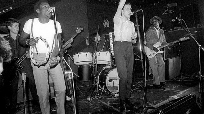 The Specials performing and wearing Dr. Martens in 1979.