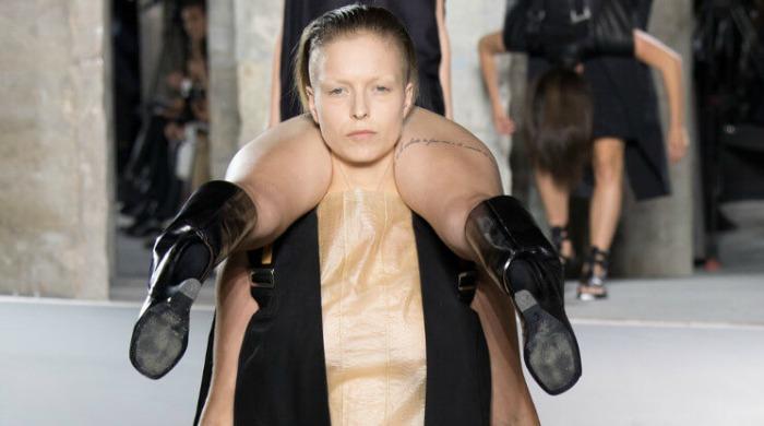 Rick Owens' show at Paris Fashion Week AW16.