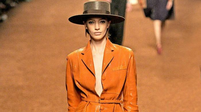 Jean Paul Gaultier's show at Paris Fashion Week AW16.