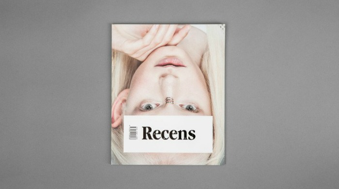 The front cover of the Recens Paper.