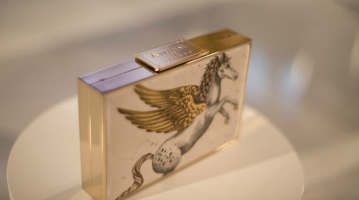 A piece from the Aspinal of London Pegasus collection.