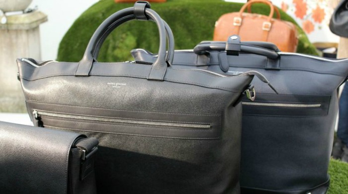 Handbags in the Aspinal of London SS16 London Fashion Week presentation.