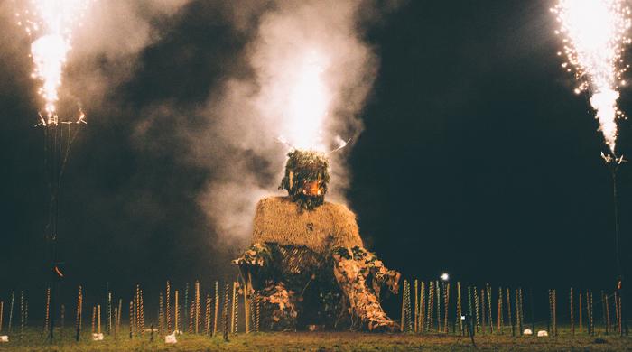 Green Man Burn - Green Man Festival 2015