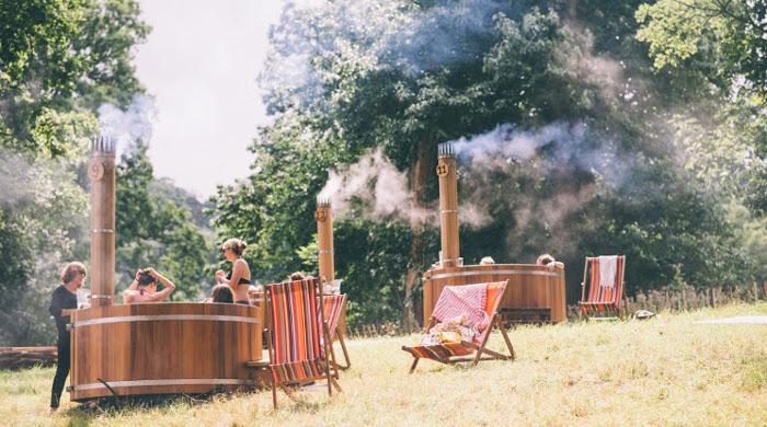 Hot Tubs - Green Man Festival 2015