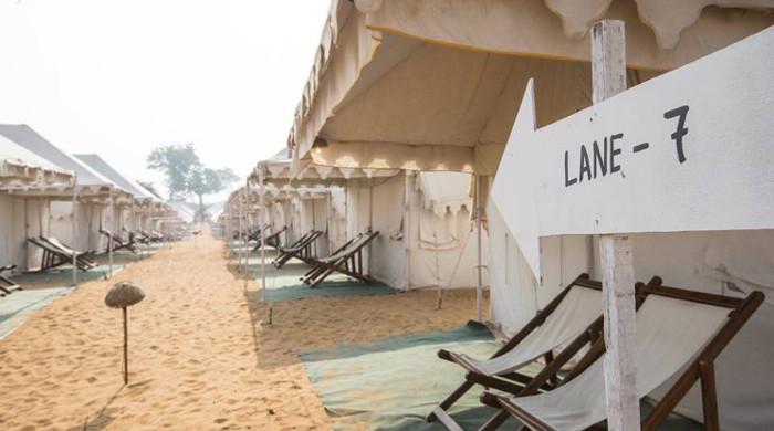 magnetic fields festival bedouin tents