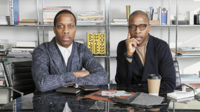 Byron and Dexter Peart of WANT Les Essentiels