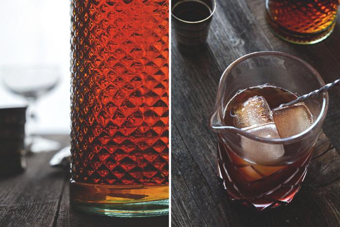 Manhattan Cocktail Recipe from Honestly Yum
