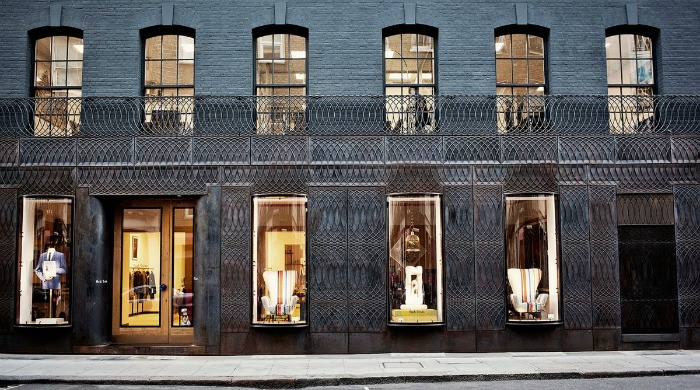 The front of the Paul Smith Mayfair store.
