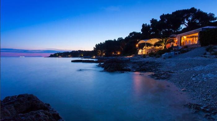 restaurant blu croatia