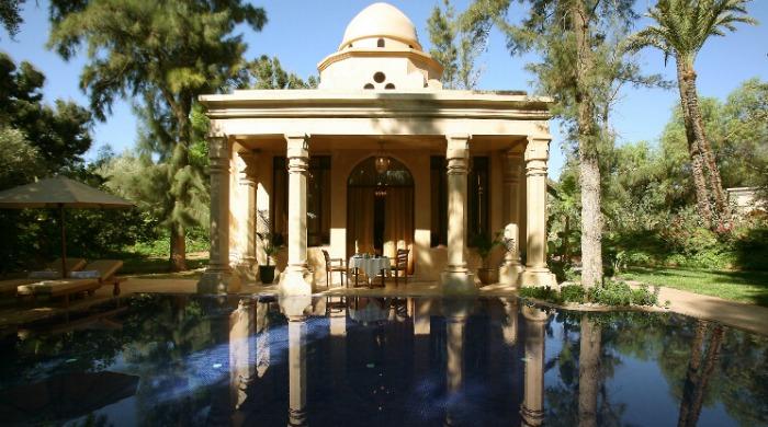 The Es Saadi Gardens & Resort in Marrakech.
