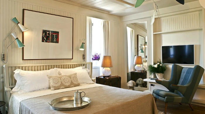 A room in Alavya, Alaçatı.