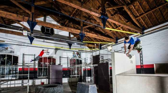 Parkour Generations, the UK's first and only dedicated parkour centre.