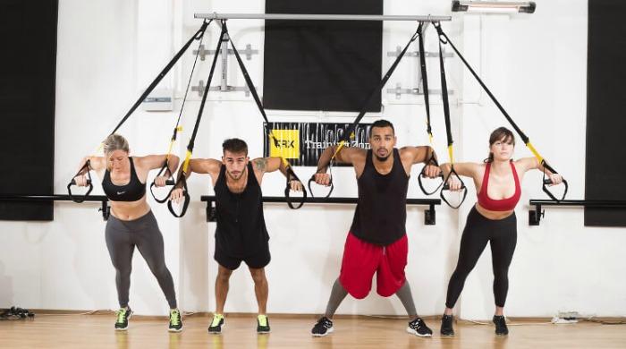 Alternative fitness class Frame X-TRAIN.
