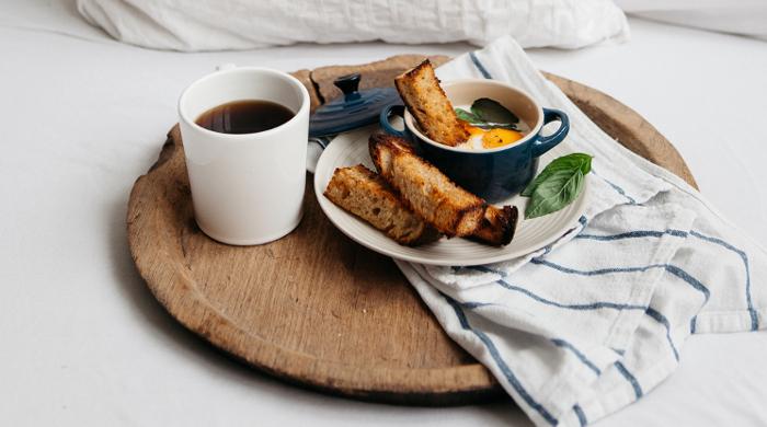 bechamel oeufs en cocotte recipe