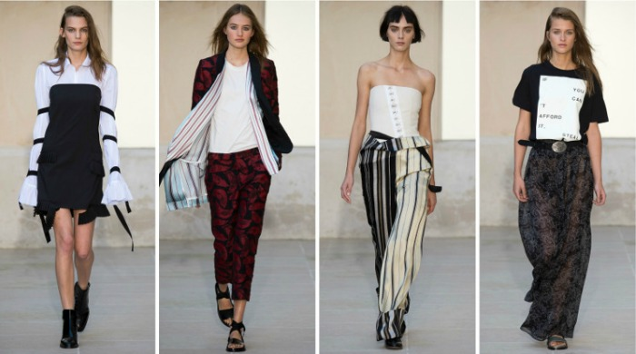 Each x Other at Paris Fashion Week SS16.