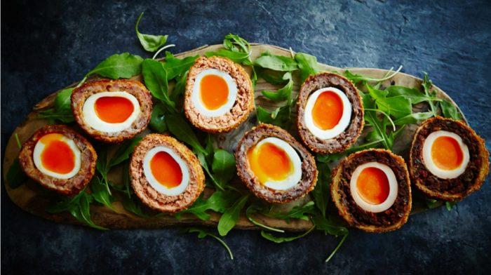 Roast Duck Scotch Egg