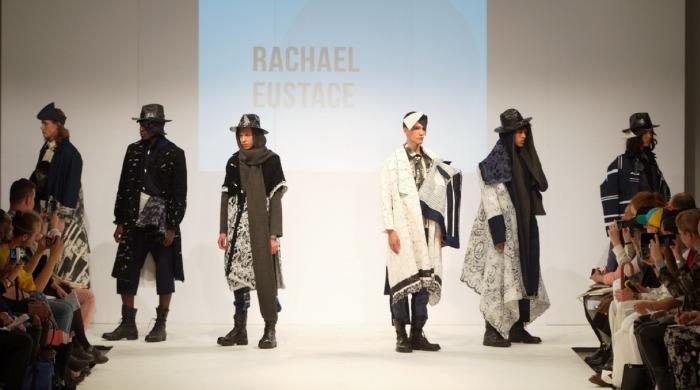 The Rachael Eustace Graduate Fashion Week 2014 show.